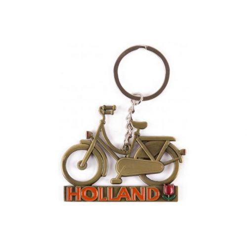 Sleutelhanger Holland brons