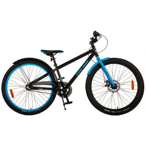 Volare Rocky mountainbike 26 inch zwart blauw shimano Nexus 3 versnellingen