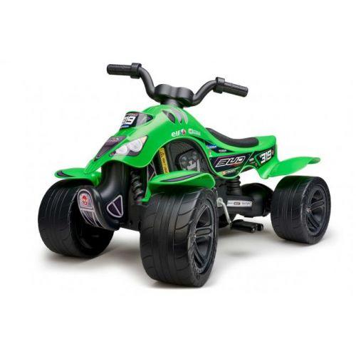 Falk Quad Bud Racing  jongens  groen Quad