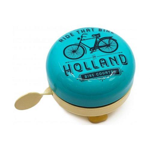 Holland fietsbel ride that Bike blauw vanille 58 mm