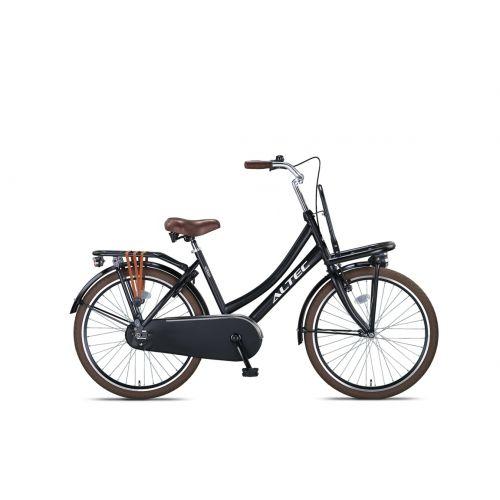 Altec Urban 24inch Transportfiets Zwart Nieuw