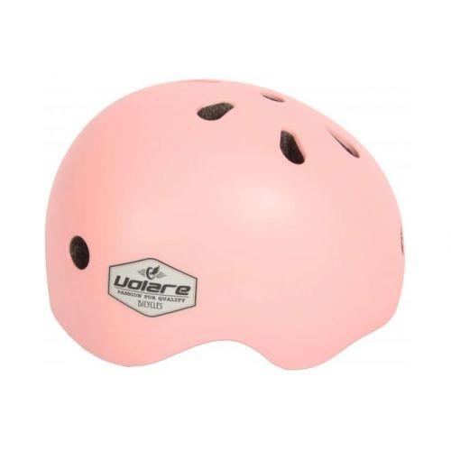 Volare fietshelm kids licht roze 45-51 cm