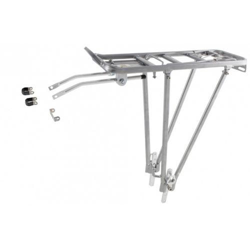 Aluminium Bagagedrager Screw-On II A Zilver