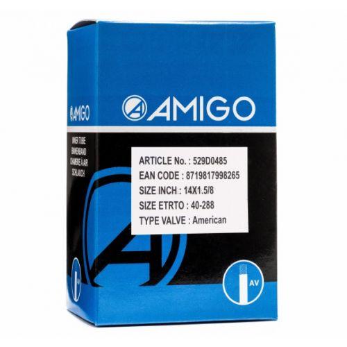 Binnenband 14 x 1 5/8 (40-288) AV 48 mm