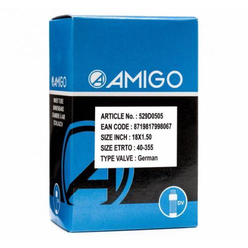 Binnenband 18 x 1.50 (40-355) DV 45 mm