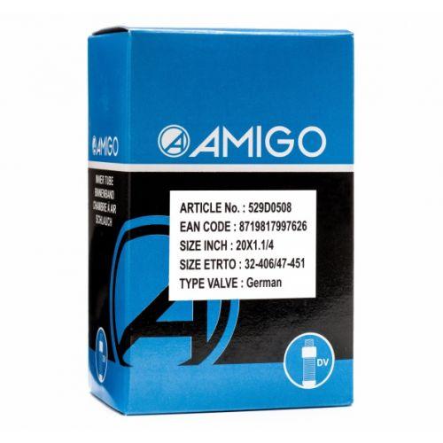 Binnenband 20 x 1 1/4 (32-406/47-451) DV 45 mm