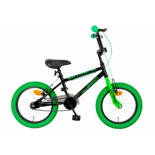 Extreme 16 Inch 25,4 cm Junior V-Brakes Groen/Zwart