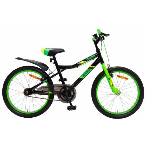 Wild 20 Inch 32 cm Junior V-Brakes Zwart/Groen