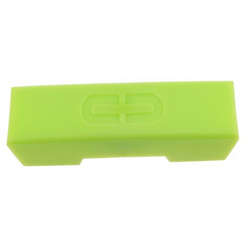 Bagagedrager kappen 6 x 2 cm groen 5 stuks