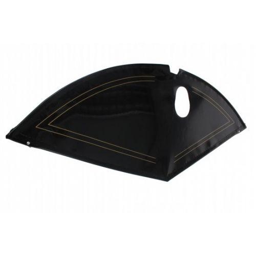 Jasbeschermer set 28 Inch 57 cm zwart
