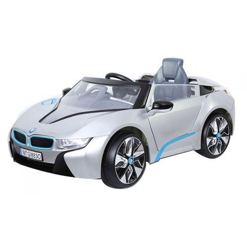 i8 accuvoertuig 12V auto zilver