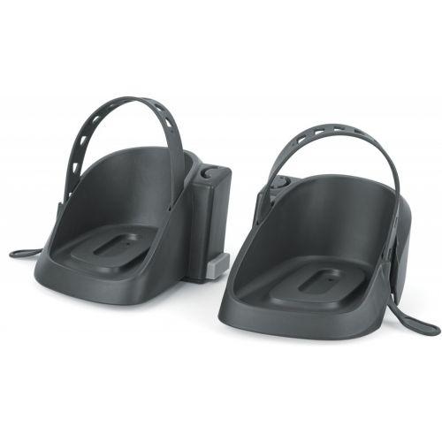 voetenbakjes voor de Bobike One mini zwart 2 stuks
