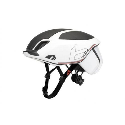 fietshelm The One Premium wit/zwart unisex maat 51-54