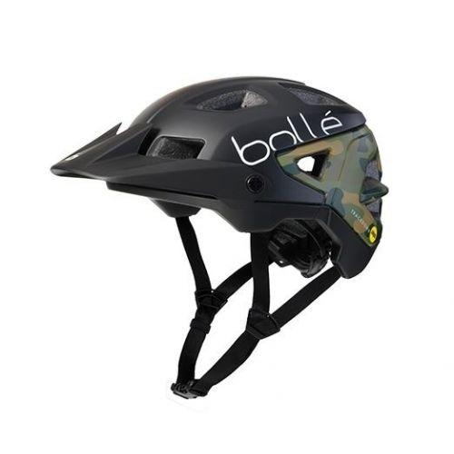 fietshelm Trackdown Mips zwart/groen maat 52-55