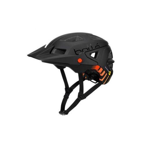 fietshelm Trackdown Mips zwart/oranje maat 51-54