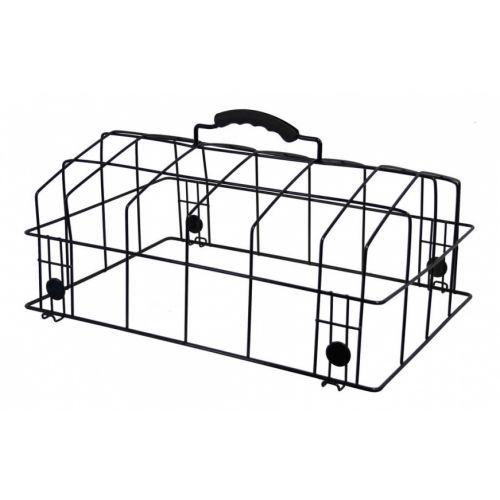 hondenmandkoepel Padua 38 x 31 x 18 cm zwart