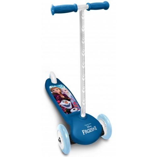 Frozen 3-wiel kinderstep Meisjes Voetrem Blauw