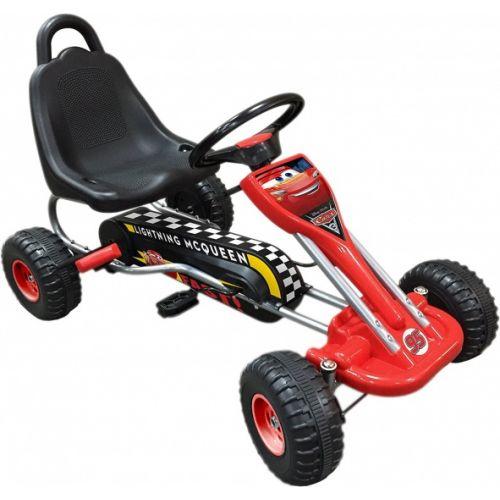skelter Cars rood/zwart 89 x 78 x 52 cm