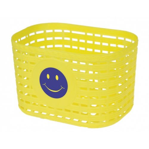fietsmand smiley junior 3,5 liter geel