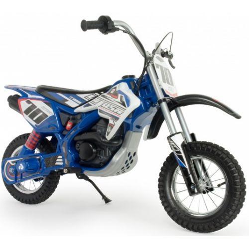 accuvoertuig motorfiets Blue Fighter 24V 106 cm blauw