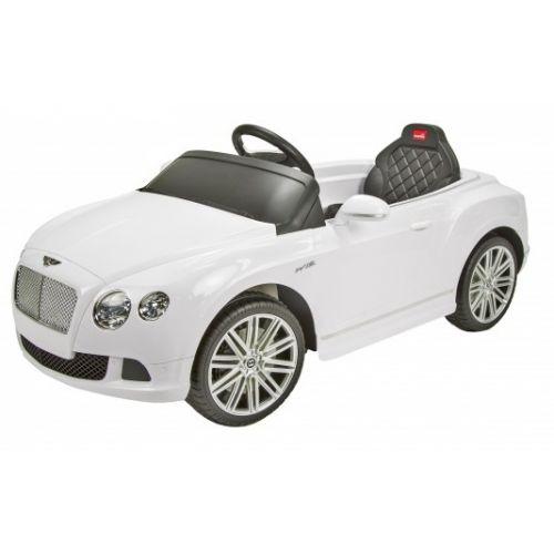 Bentley GTC accuvoertuig 12 Volt R/C wit