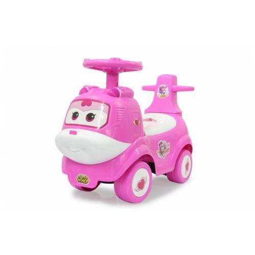 push-car Superwings Junior Roze/Wit