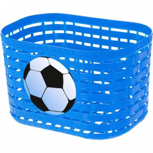 fietsmand voetbal junior 3,5 liter lichtblauw