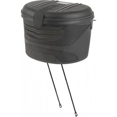 Fietsbox voor Amsterdam zwart 17 liter