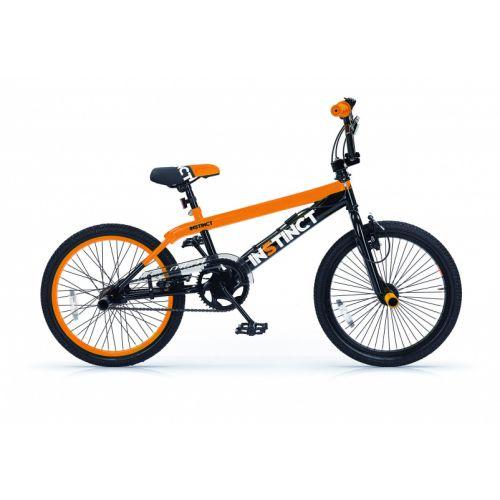 Instinct 20 Inch 49 cm Jongens V-Brake Zwart/Oranje
