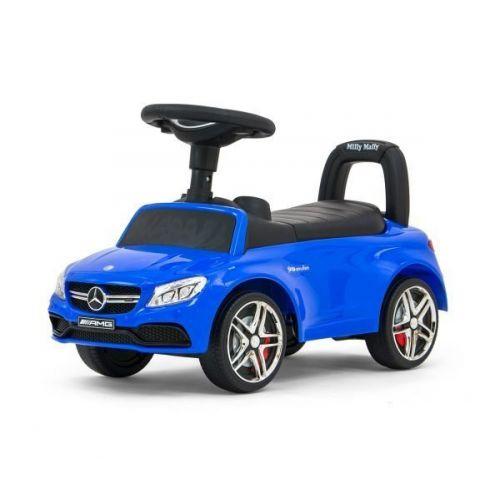 loopauto Mercedes junior 63 x 28 x 38 cm staal blauw