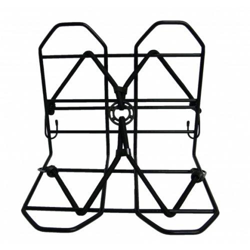 Bagagedrager verbreder 28 x 25 cm zwart