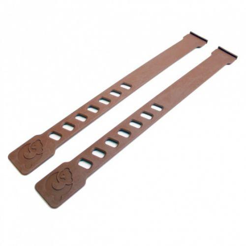 voetriempjes QS875 28 cm bruin 2 stuks