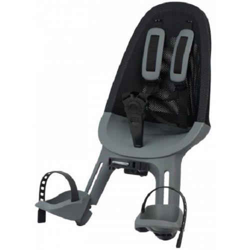 voorzitje Air Q860 junior mesh zwart/grijs