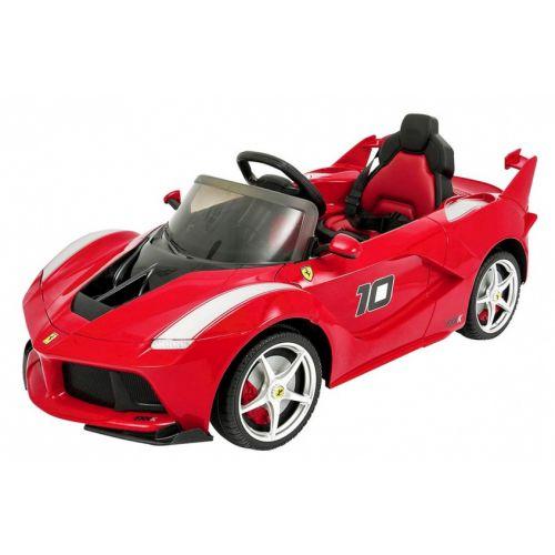 LA Ferrari accuvoertuig 12 Volt R/C rood
