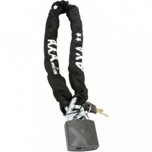 kettingslot AXA Newton Pro Moto padlock 100 cm zwart