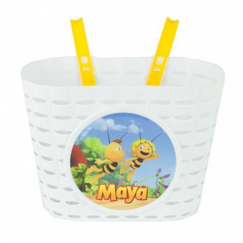 kinderfietsmand Maya de Bij junior 20 cm wit