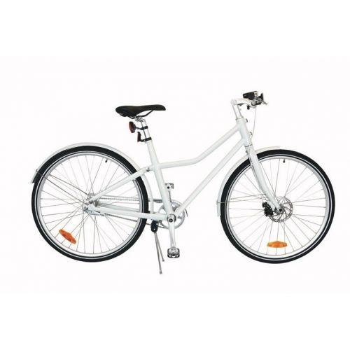 City Bike Deluxe 26 Inch 45 cm Unisex 2V Terugtraprem Wit