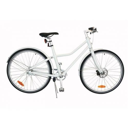City Bike Deluxe 28 Inch 48 cm Unisex 2V Terugtraprem Wit