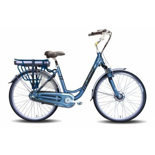 Basic 28 Inch 49 cm Dames 3V Rollerbrake Blauw
