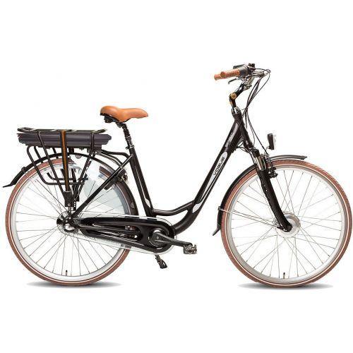 Basic 28 Inch 49 cm Dames 7V Rollerbrake Matzwart/Bruin