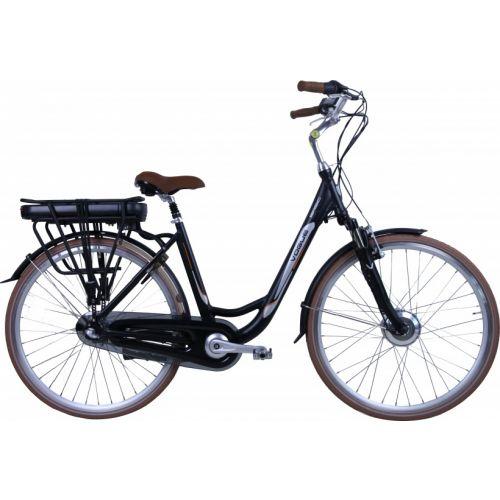 Basic 28 Inch 49 cm Dames 3V Rollerbrake Matzwart