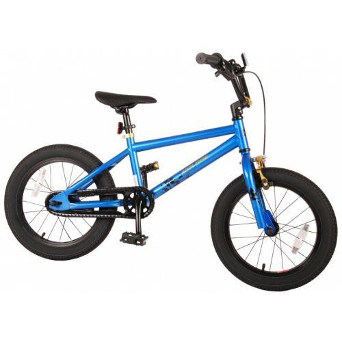 Cool Rider 16 Inch 25,4 cm Jongens Terugtraprem Blauw/Zwart