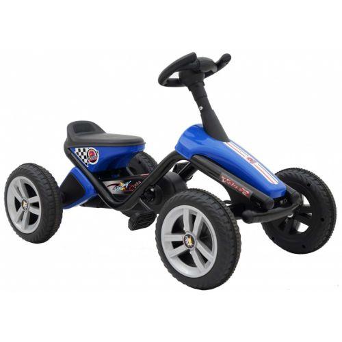 Mini Go Kart 10 Inch Jongens Blauw/Zwart