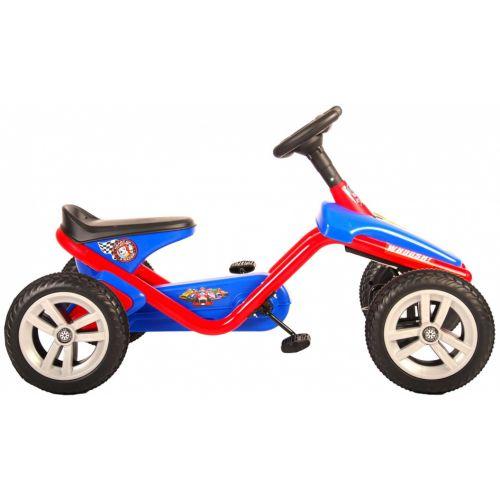 Paw Patrol Mini Go Kart 10 Inch Junior Blauw/Rood