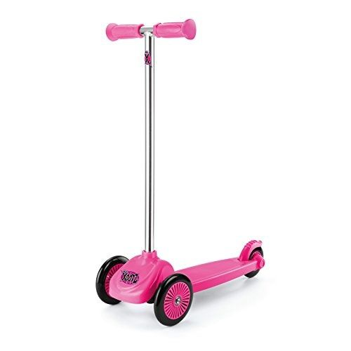 3-wiel kinderstep Xoo Mini Junior Voetrem Roze